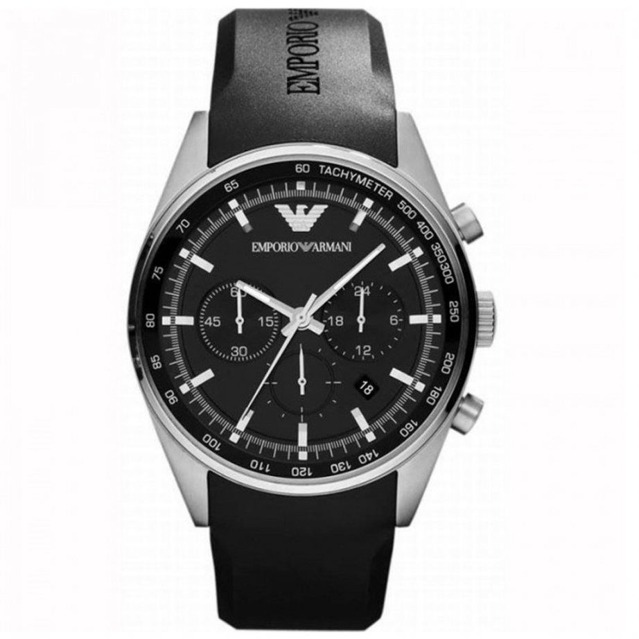 emporio armani ar5977 mens chronograph watch cheapest. Black Bedroom Furniture Sets. Home Design Ideas