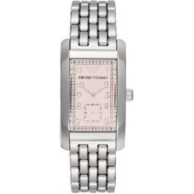 Armani Watches AR0106 Stainless Steel Mens Designer Watch