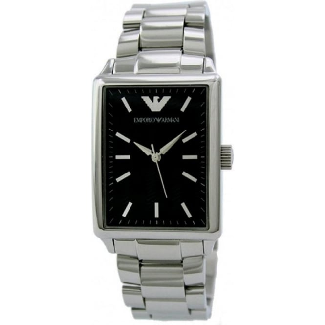 Armani Watches Classic Stainless Steel Womens Watch AR0417