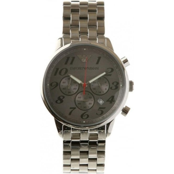 Armani Watches AR0624 Stainless Steel Mens Designer Watch