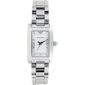 Armani Watches AR0359 Ladies Silver Stainless Steel Watch