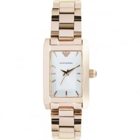 Armani Watches AR0361 Ladies Rose Gold Stainless Steel Watch