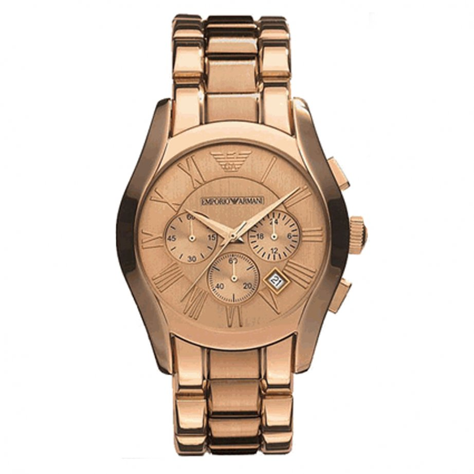 Armani Watches For Men Rose Gold
