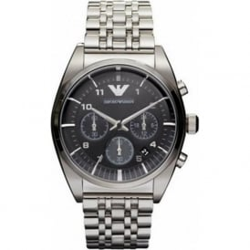 Armani Watches AR0373 Mens Silver Classic Watch
