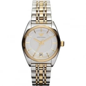Armani Watches AR0380 Two Tone Stainless Steel Ladies Watch
