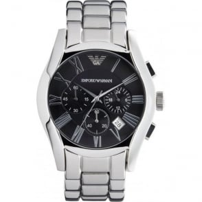Armani Watches AR0673 Classic Stainless Steel Mens Chronograph Watch