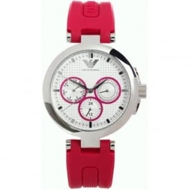 Armani Watches AR0737 Armani Pink&Silver Ladies Watch