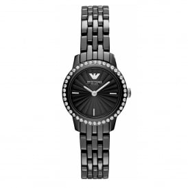AR1480 Black Ceramica Ladies Watch