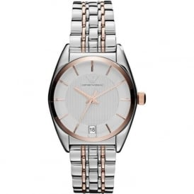 Armani Watches AR1630 Two Tone Stainless Steel Ladies Watch