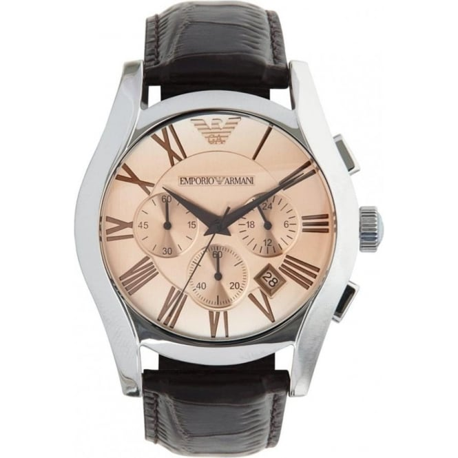 Armani Watches Emporio Armani Watches AR1634 Mens Brown Leather Watch