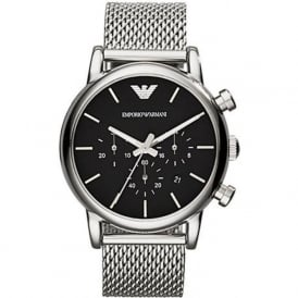 Armani Watches AR1811 Gents Silver Stainless Steel Watch