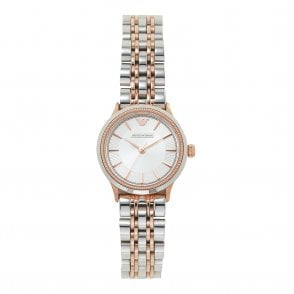 4c93504aeb708 AR1827 Ladies Two Tone Gold & Silver Watch New Arrival. Armani Watches ...