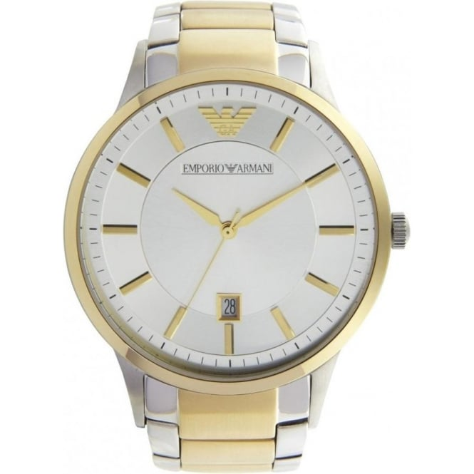 Armani Watches AR2449 Silver Stainless Mens Watch