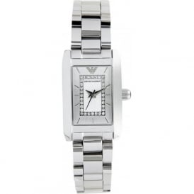 Armani Watches AR3170 Ladies Silver Stainless Steel Watch