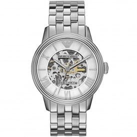 AR4672 Meccanico Silver Stainless Steel Automatic Men's Watch