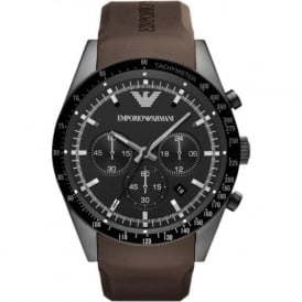 Armani Watches AR5986 Mens Brown Chronograph Watch