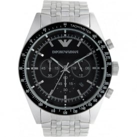 Armani Watches AR5988 Mens Silver Tazio Classic Watch
