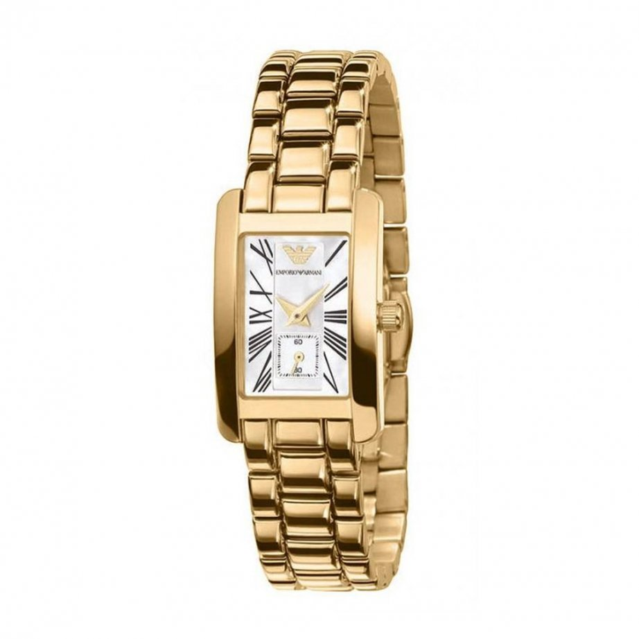 buy emporio armani classic gold womens ar0175 uk
