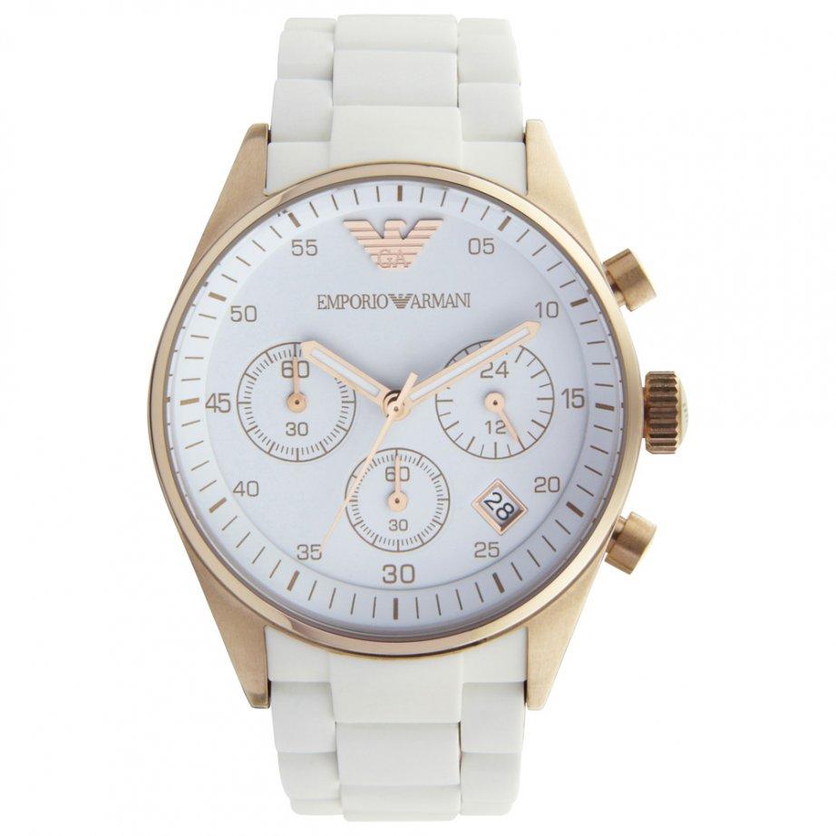 emporio armani white chronograph ar5920 cheapest