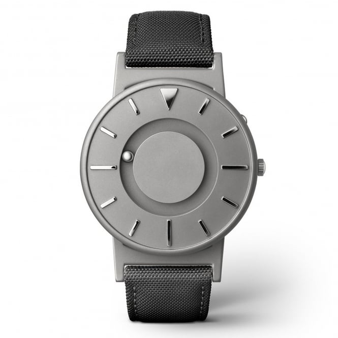 Eone Bradley Canvas Noir & Grey Titanium Watch