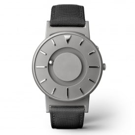 Bradley Canvas Noir & Grey Titanium Watch