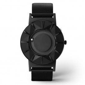 Eone Bradley Element Black Stainless Steel Mesh Watch
