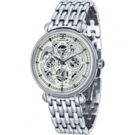 ES-8043-11 Grand Calendar Multi-Fuctional Stainless Steel Automatic Watch