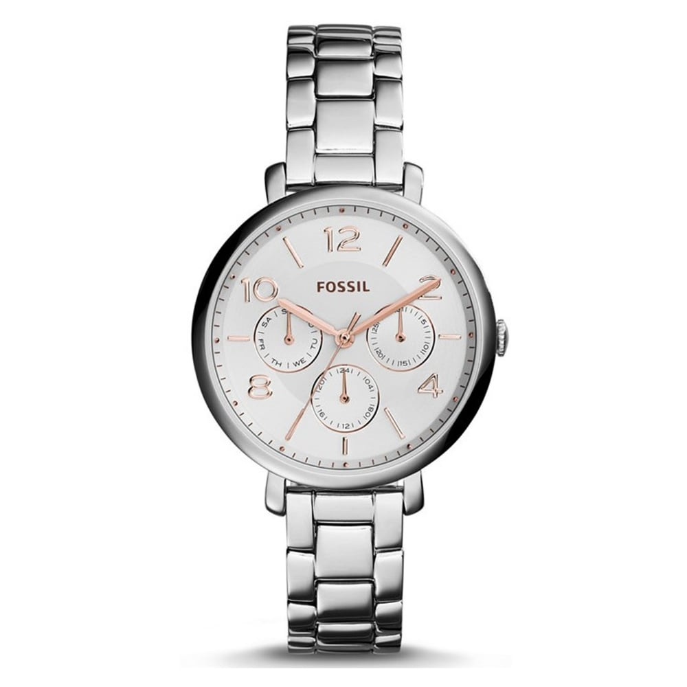 es3738 fossil jacqueline two tone and silver