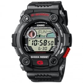 G-7900-1ER Black G-Rescue Rescue Alarm Chronograph Watch