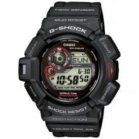 G-9300-1ER Black Mudman Alarm Chronograph Men's Watch