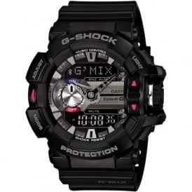 G-Shock GBA-400-1AER Bluetooth Compatible Black Rubber  Watch