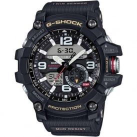 GG-1000-1AER Black Rubber Analogue & Digital Men's Watch