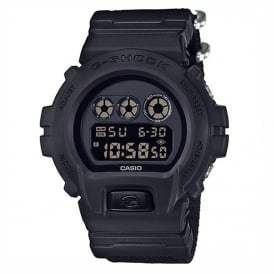 DW-6900BBN-1ER Black Canvas Men's Digital Watch