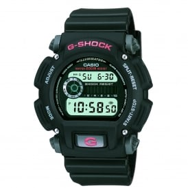 DW-9052-1VER Black Resin Digital Watch