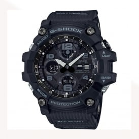 GWG-100-1AER Black Digital Solar Powered Watch
