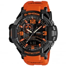 G-Shock GA-1000-4AER Orange Silicone Men's Watch