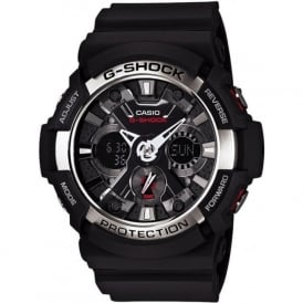 G-Shock GA-200-1AER Black & Steel Digital & Analogue Watch