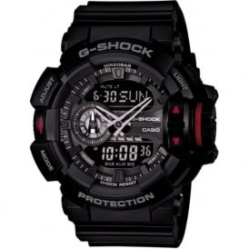 G-Shock GA-400-1BER Black Rubber Analogue & Digital Watch