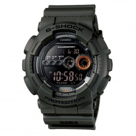 GD-100MS-3ER Shock Resist Green Resin Digital Watch