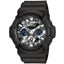 GA-201-1AER Alarm Chronograph Men's Watch