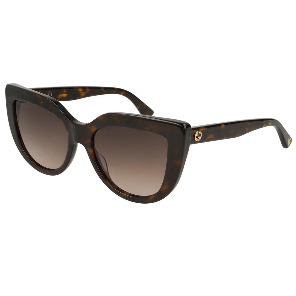 d78041876a GG0164S 002 53 Urban Brown Havana Ladies Sunglasses