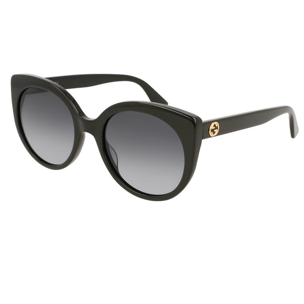 c506834a925a8 GG0325S 001 55 Urban Black Ladies Sunglasses