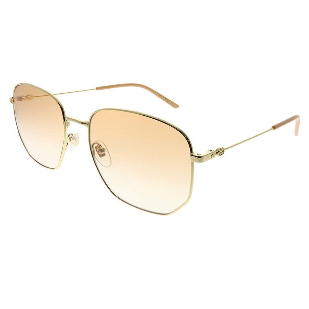 767cec5d66f GG0396S 003 56 Gold and Peach Sunset Sunglasses