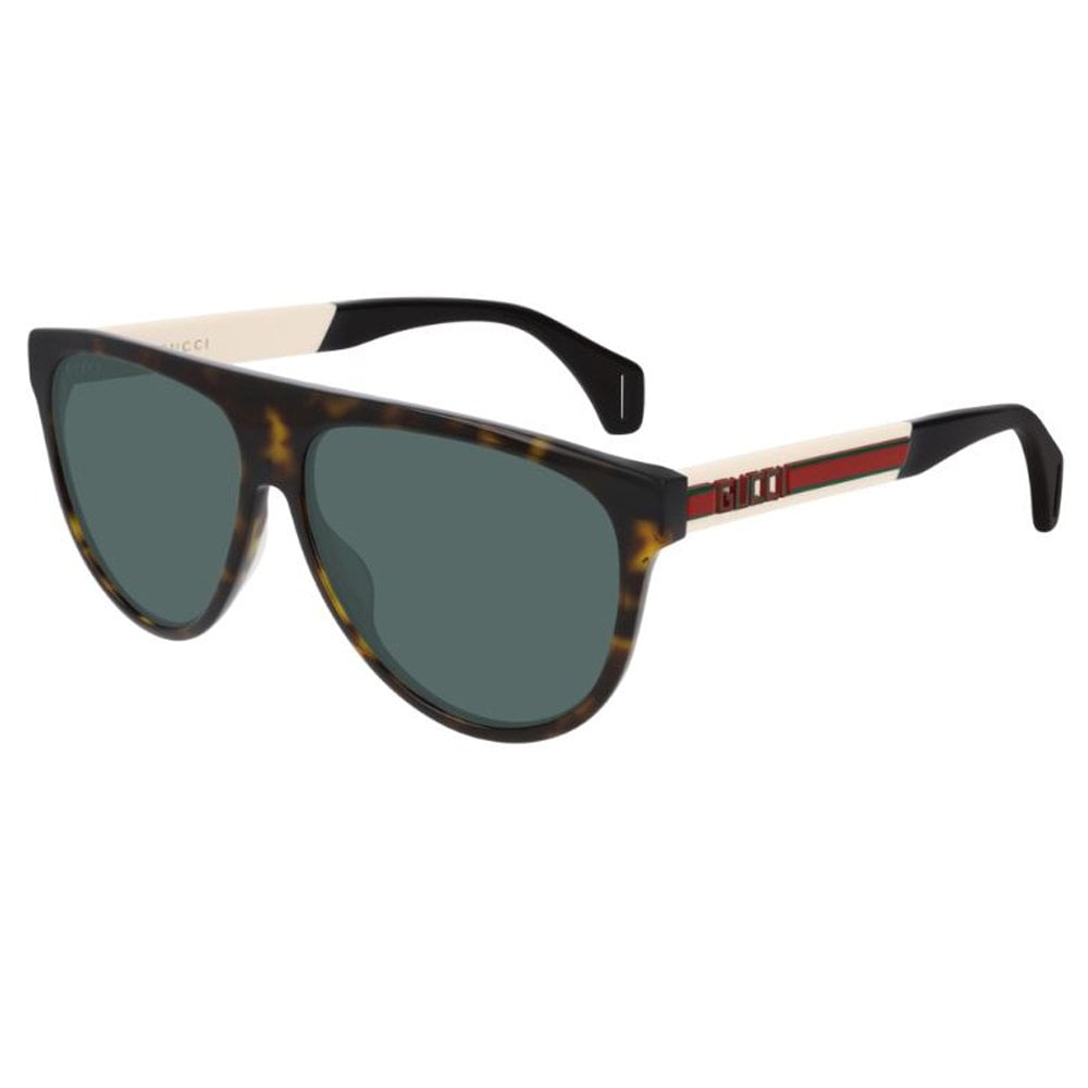 f0e2fed49f8 GG0462S 003 58 Seasonal Icon Dark Havana Brown and White Men s Sunglasses