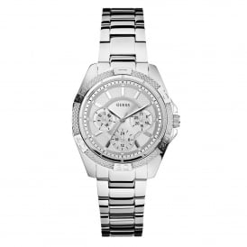 Guess W0235L1 Mini Phantom Silver Stainless Steel Ladies Watch