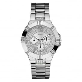 Guess W12080L1 Vista Silver Stainless Steel Ladies Watch