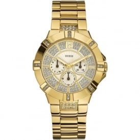 W13573L1 Guess Vista Gold Ladies Watch