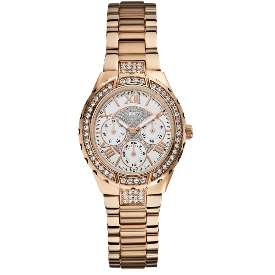 w0111l3 rose gold stainless steel watch womens