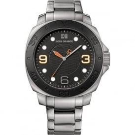 Hugo Boss Orange 1512842 Black & Silver Stainless Steel Men's Watch