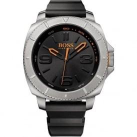 Hugo Boss Orange 1513105 Men's Black Rubber Watch